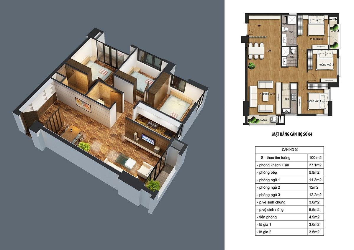 can-100m2-dream-home Chung cư ct36 dream home - kđt định công