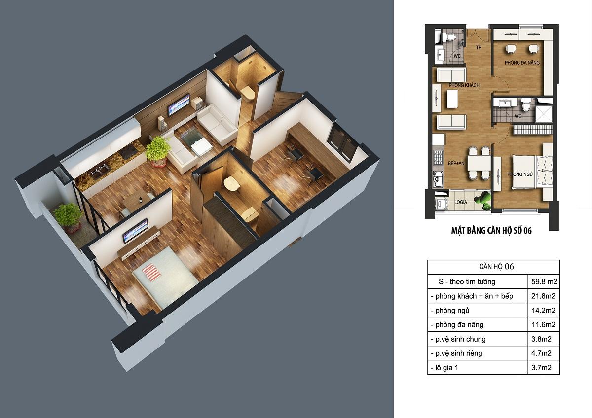 can-59.8m2-dream-home2 Chung cư ct36 dream home - kđt định công