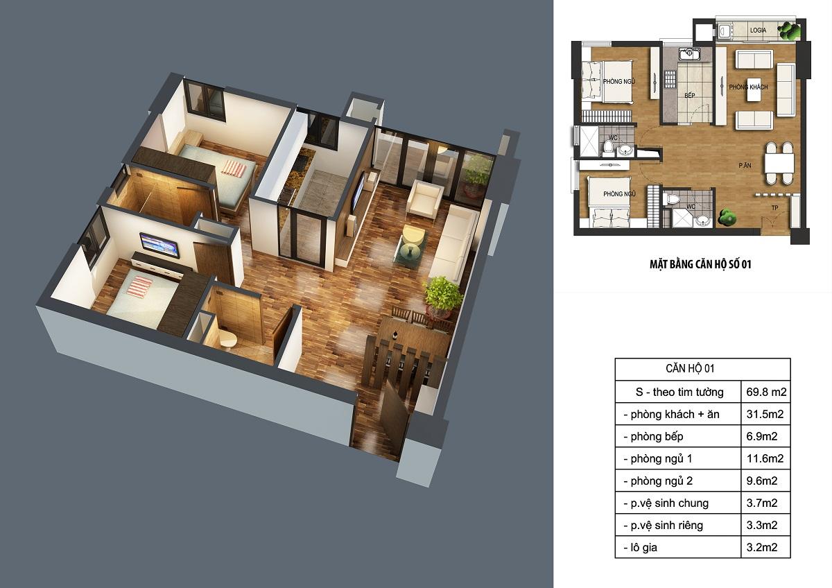 can-69.8m2-dream-home Chung cư ct36 dream home - kđt định công