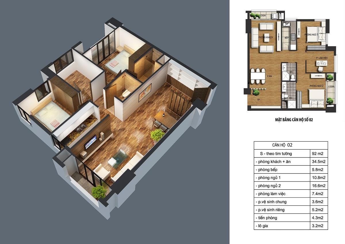 can-92m2-dream-home Chung cư ct36 dream home - kđt định công