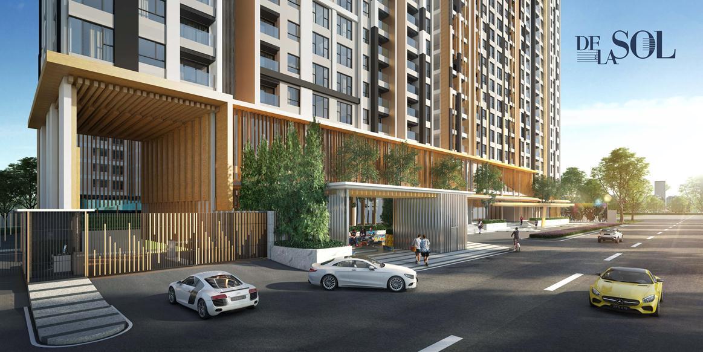 De La Sol được đầu tư bởi tập đoàn bất động sản lớn tại Singapore là Capitaland, chủ đầu tư vững mạnh và đang phát triển thị trường mở rộng trên toàn thế giới. Tập đoàn tập trung đánh mạnh ở khu vực Châu Á – nơi có nền kinh tế trên đà tăng trưởng không ngừng.  Dự án sở hữu vị trí tuyệt đẹp khi nằm trên trục đường Tôn Thất Thuyết, nơi giao hòa giữa các tuyến đường chính của quận. Việc di chuyển từ dự án đến các dịch vụ, tiện ích lân cận rất thuận tiện, thuận lợi về giao thông, môi sinh, tiện ích ngoại khu, mang trong mình tiềm năng tăng giá một cách ngoạn mục.