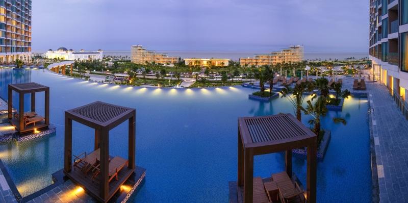 FLC Grand Hotel Sam Son được thừa hưởng toàn bộ tiện ích của quần thể FLC Sam Son Beach & Golf Resort