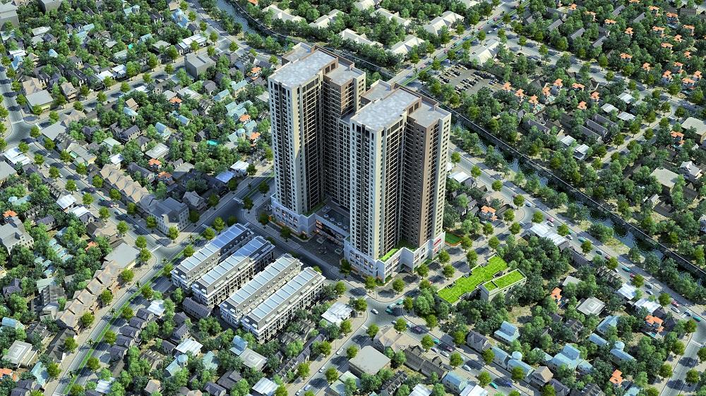 Tổ hợp căn hộ và nhà ở Goldsilk Complex