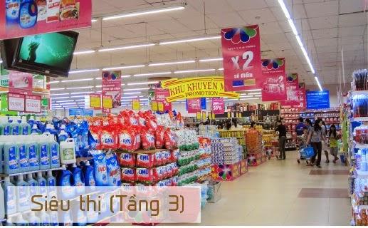 hệ thống siêu thị tại chung cư Gemek tower