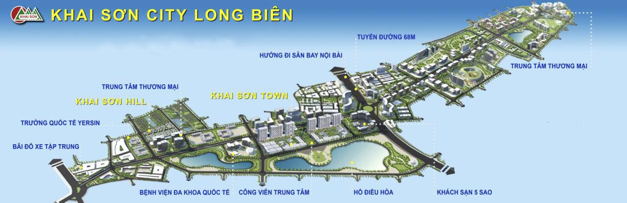 Khai Sơn City - Đất rồng thiêng hội tụ