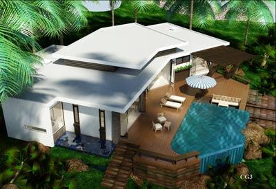 Khu biệt thự Mercure Sơn Trà resort Đà Nẵng