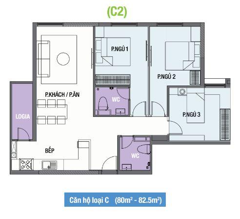 thiet-ke-mat-bang-can-ho-the-one-residence-loai-c2